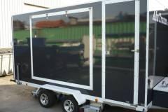 Alutraum Anhänger Typ : Koffer ,  Diebound Ral 7016